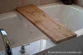 Teak Tub Caddy Interior Fun Diy Bathtub Tray