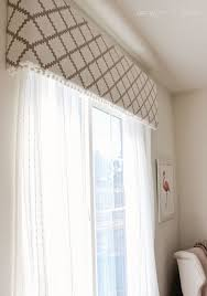 How To Make Window Cornice Best 25 Window Cornice Diy Ideas On Pinterest Window Cornices
