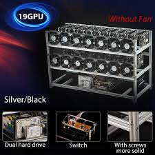 how to open a miner s l 19 gpu open pit mining rig mining rig aluminum stackable case open