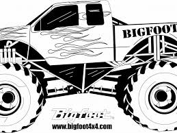 100 bigfoot monster truck coloring pages coloring pages for