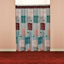 Peacock Bathroom Ideas by Bathroom Awesome White Ruffle Shower Curtain For Excellent