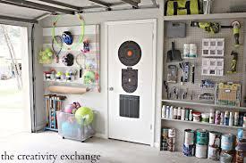 diy overhead garage storage shelves