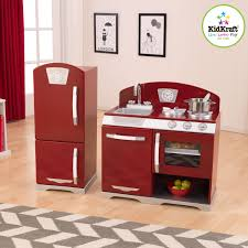 ideas cute kidkraft retro kitchen for best kids kitchen idea
