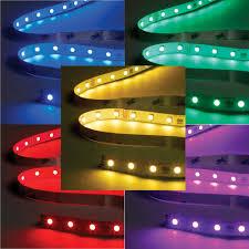 colour changing led ceiling lights rbg standard colour changing led tape 4m cut length