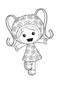 team umizoomi coloring pages milli coloringstar