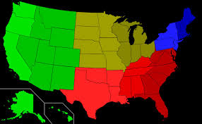Dialect Map Usa by The Rapidly Changing Language Of American English Youtube