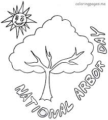 arbor day coloring pages getcoloringpages com