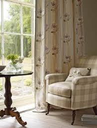 Blue Buffalo Check Curtains Dining Rooms Blue Buffalo Check Curtains Colefax And Fowler