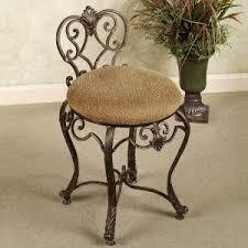 Silver Vanity Chair Bedroom Bathroom Vanity Chair Kosovopavilion With Vanity Stool