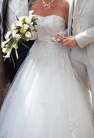 occasion mariage de mariée pronuptia d occasion en soie et dentelle