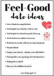 10 feel date ideas y