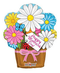 mothers day flowers s day balloons 18 happy s day flower pot shape