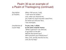 psalms overview