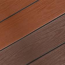 closeout cevn pvc composite decking in stock fireside canyon brown