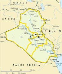 Kuwait On A Map Where Is Iraq Republic Of Iraq Maps U2022 Mapsof Net