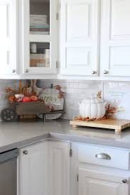 How To Decorate A Kitchen Counter by Fall Home Decor Ideas Fall Home Tours Clean And Scentsible