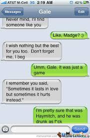 gale s drunk text to katniss by starburst0 meme center
