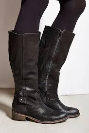 tall biker boots seychelles pursuit tall boot in black lyst
