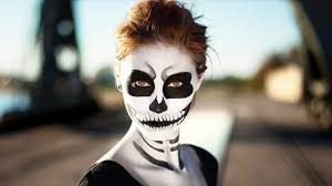 Halloween Skeleton Make Up by Halloween Makeup Tutorial Creepy Skeleton Makeup Youtube