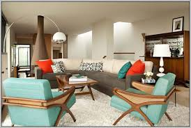 mid century modern interior color schemes painting 24827