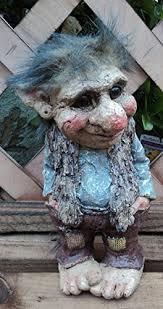 trevor the troll gnome garden gift ornament co uk garden