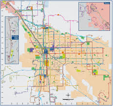 Metro Bus Route Map by Suntran Transitnow System Map