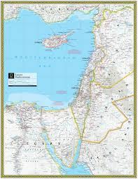 Map Mediterranean Eastern Mediterranean Atlas Maps
