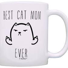 animal mug 13 99 funny cat gifts best cat mom ever rude cat lovers cat