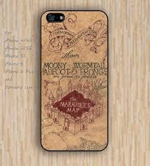 okay phone iphone 5s 6 harry potter map catcher colorful