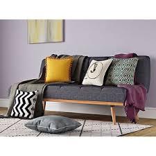 Retro Sofa Bed Vintage Sofa Bed Furniture Living Room 3 Seater Retro Fabric