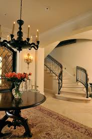 Dark Wood Banister French Staircase Designs Staircase Traditional With Black Stair