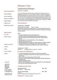 Test Manager Resume Template Download Manufacturing Test Engineer Sample Resume