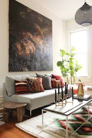 Cowhide Rug In Living Room Twine How To Layer Rugs