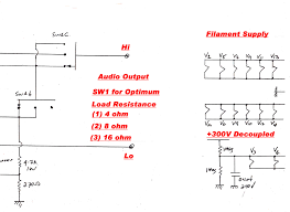 non ideal transformer circuit diagram wiring or schematic 6v6