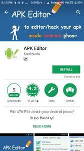 edit apk edit apk files inside your android phone enjoy hacking app