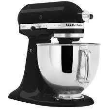 all black kitchenaid mixer kitchenaid ksm150psbk imperial black artisan series 5 qt