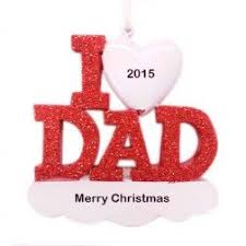 i love my papa personalized christmas ornament christmas and city