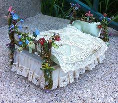fairy bed fairy bed make a sweet nature crafted bed for the fairies from