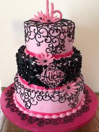 Pink And Black Sweet 16 Decorations 55 Best Sweet 16 Ideas Images On Pinterest Sweet 16 Cakes Sweet