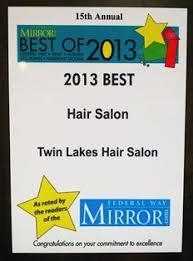 home award winning of the best hair salon in federal way wa