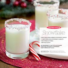 candy cane martini recipe snowflake shot recipe schnapps soy milk and shot glasses