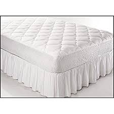 amazon com fitted quilted day bed mattress cover waterproof