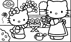 kitty ballet coloring pages coloring pages