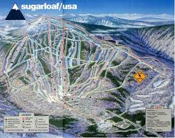 Snow Map Usa by The Snow Junkies U2013 Sugarloaf