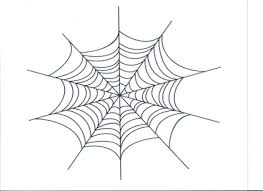 spider web tracing one halloween worksheets free printable in