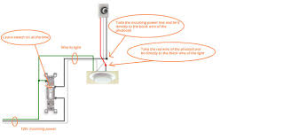 How To Light by How To Wire A Light Switch Diagram Wiring Diagram