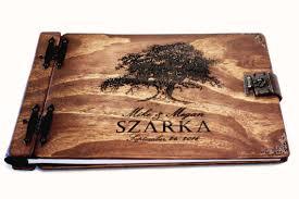 personalized wedding albums book monogrammed leather photo album amanda crafts
