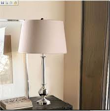 outlet liner cotton plating modern bedside table lamps at discount