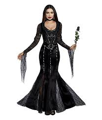 Digger Halloween Costume Dreamgirl Frightfully Beautiful Addams Women U0027s Halloween