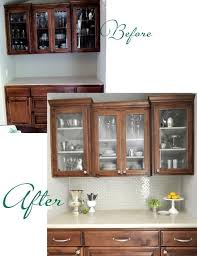 how to paint stain cabinets white pin on for the home